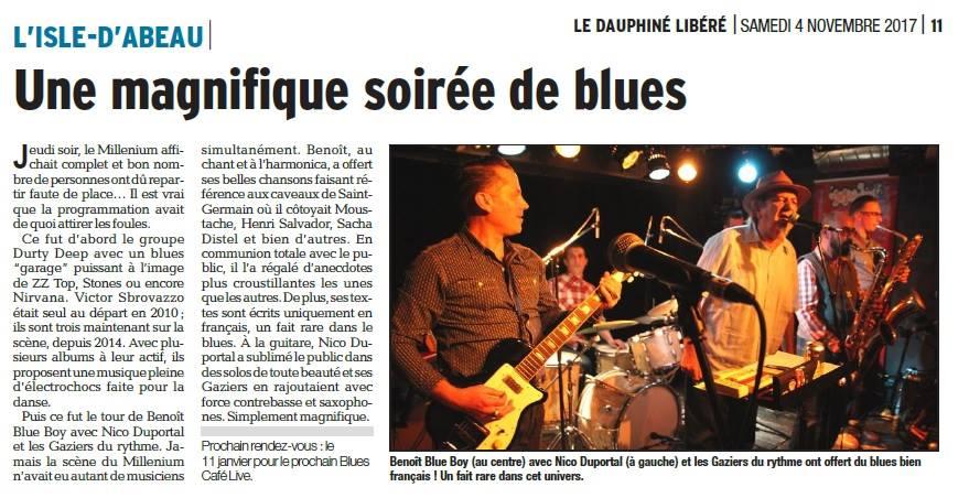 Dauphiné Libéré - Blues Café